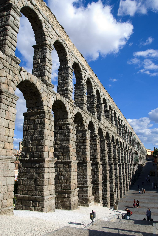 Acueducto de segovia arquitectura comunidad nikonistas - Acueducto de segovia arquitectura ...
